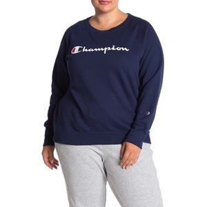 Champion Powerblend Crew Neck Sweatshirt Plus Size